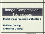 Image Compression Techniques