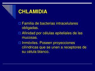 CHLAMIDIA