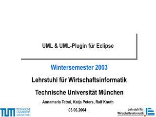 UML  UML-Plugin f r Eclipse