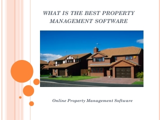 Property Management Software Systems