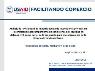 An lisis de la viabilidad de la participaci n de instituciones privadas en la certificaci n del cumplimiento de condicio
