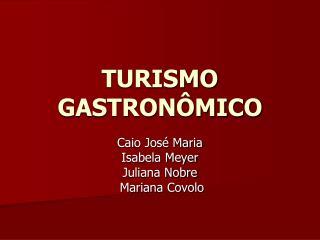 TURISMO GASTRON MICO