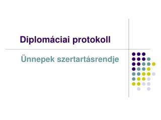 Diplom ciai protokoll
