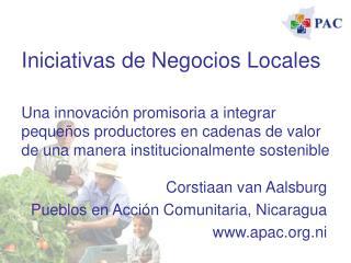 Iniciativas de Negocios Locales