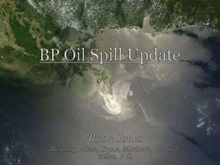 BP Oil Spill Update