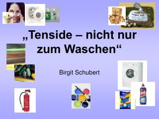 Tenside   nicht nur zum Waschen   Birgit Schubert