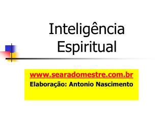 Intelig ncia Espiritual