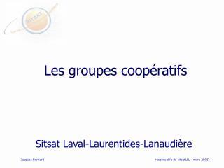 Les groupes coop ratifs