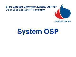 System OSP