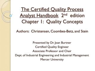 Planification et assurance de la qualit  et de la qualit  totale