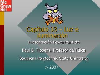 Cap tulo 33   Luz e iluminaci n