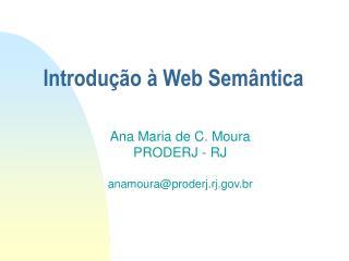 Introdu  o   Web Sem ntica