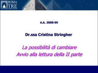 A.A. 2008-09