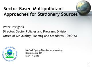 Sector Based Multipollutant Approaches for Stationary Sources