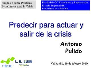 Valladolid, 19 de febrero 2010