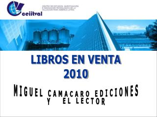 LIBROS EN VENTA 2010