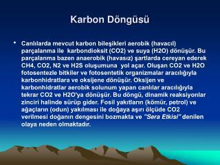 Karbon D ng s