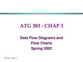 ATG 383 - CHAP 3
