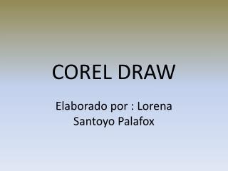 COREL DRAW