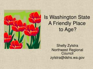Is Washington State A Friendly Place  to Age