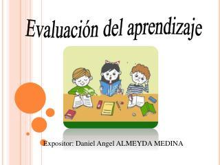 Evaluaci n del aprendizaje