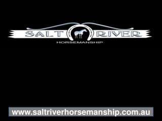 Saltriver Horsemanship Clinic