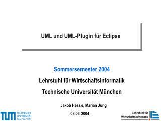 UML und UML-Plugin f r Eclipse