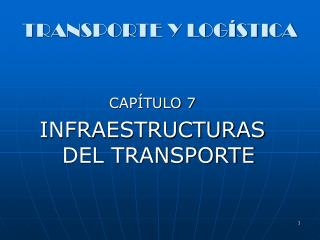 TRANSPORTE Y LOG STICA