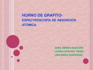 HORNO DE GRAFITO-espectroscop a de absorci n at mica