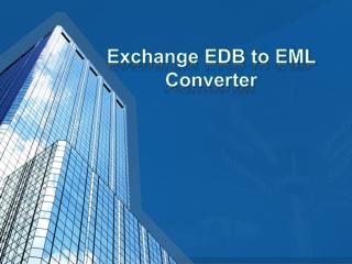 EDB to EML