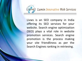 SEO comapny in Hyderabad