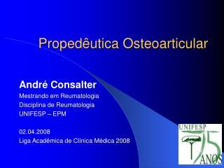 Proped utica Osteoarticular