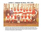 Lemmer 1, kampioen 4e klasse, 1971-1972