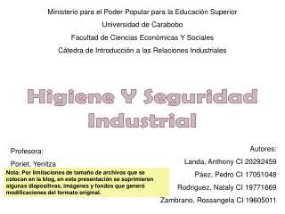 Ministerio para el Poder Popular para la Educaci n Superior Universidad de Carabobo Facultad de Ciencias Econ micas Y So