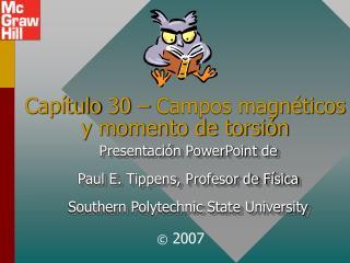 Cap tulo 30   Campos magn ticos y momento de torsi n