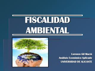 FISCALIDAD AMBIENTAL