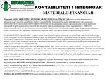 KONTABILITETI I INTEGRUAR MATERIALO-FINANCIAR