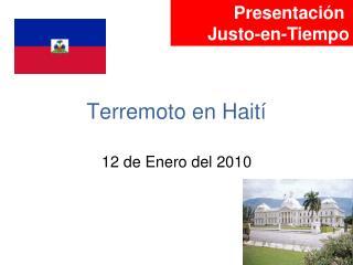 Terremoto en Hait