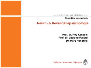 Neuro-  Revalidatiepsychologie