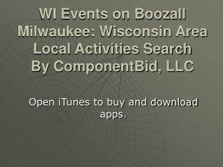 Boozall Milwaukee a free iPhone & iPad App