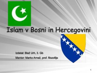 Islam v Bosni in Hercegovini