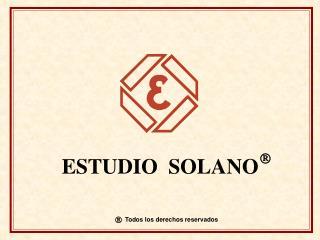 ESTUDIO  SOLANO