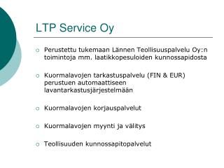 LTP Service Oy