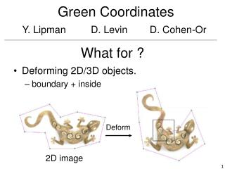 Green Coordinates