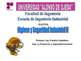 Facultad de Ingenieria Escuela de Ingenieria Industrial