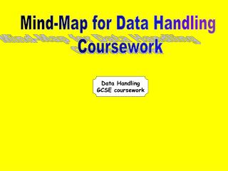 Data Handling GCSE coursework