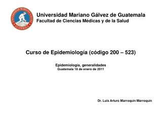 Universidad Mariano G lvez de Guatemala Facultad de Ciencias M dicas y de la Salud