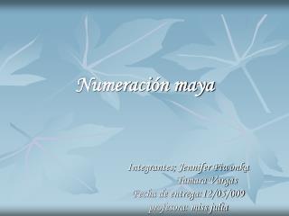 Numeraci n maya