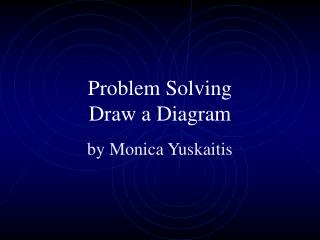 Problem Solving Draw a Diagram