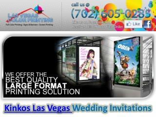 Kinkos Las Vegas | Las Vegas Color Printing Company